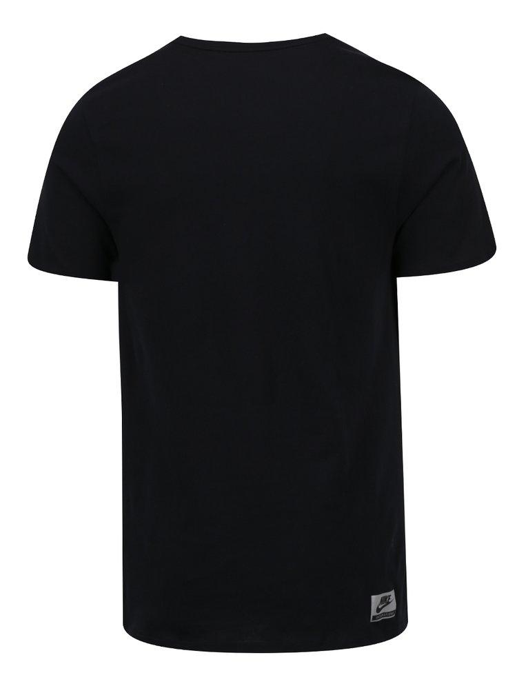 Tricou negru Nike Intel pentru barbati