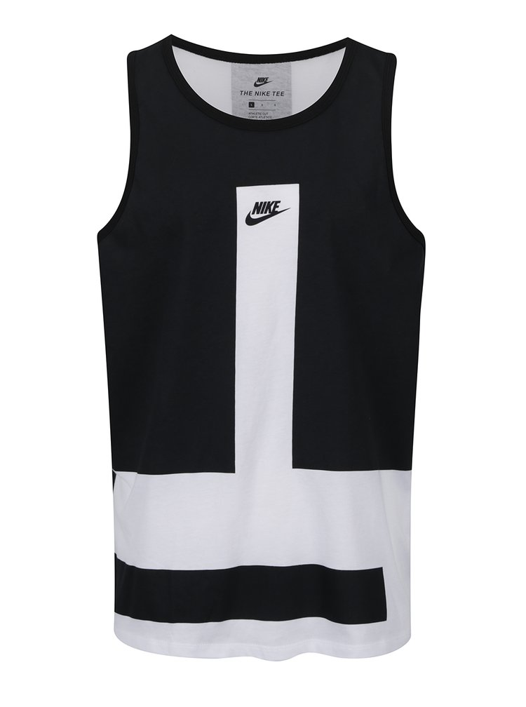 Maiou alb & negru Nike Modern pentru bărbați