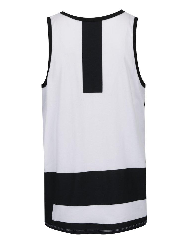 Černo-bílé pánské tílko Nike Modern