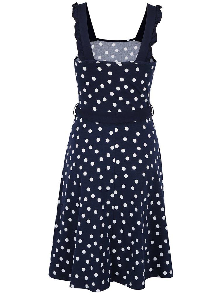 Rochie albastru inchis Dorothy Perkins cu model cu buline
