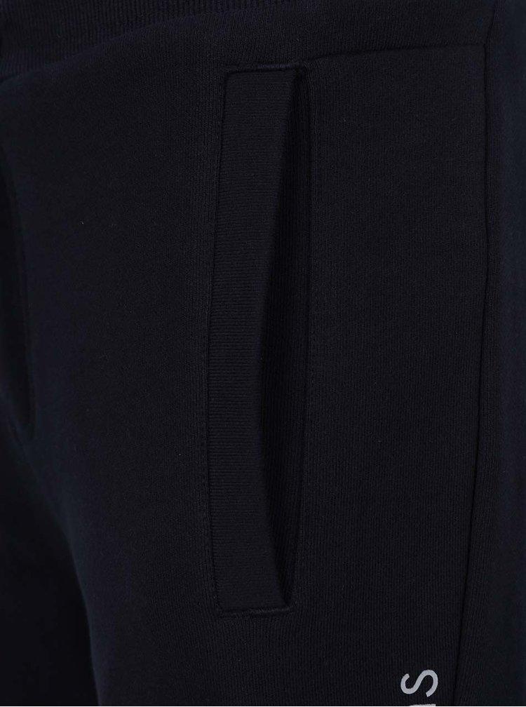 Tmavě modré pánské tepláky s potiskem Calvin Klein Jeans Haro