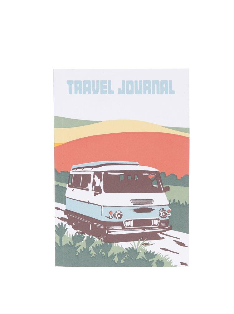 Jurnal de călătorie Chronicle cu imprimeu