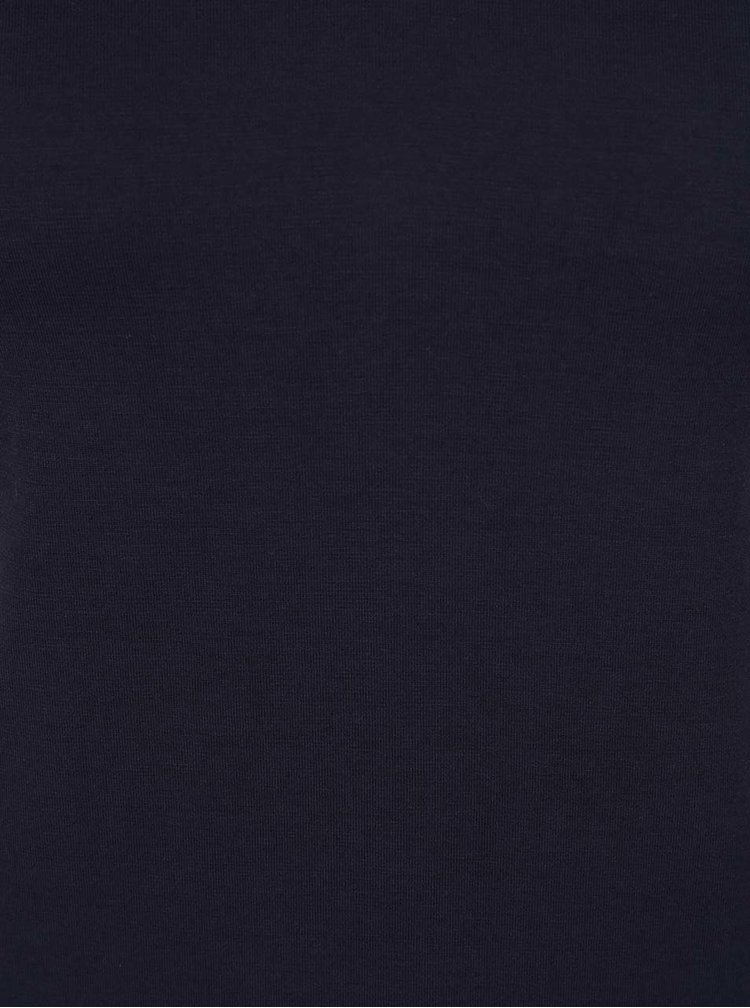 Tricou bleumarin Dorothy Perkins basic Petite