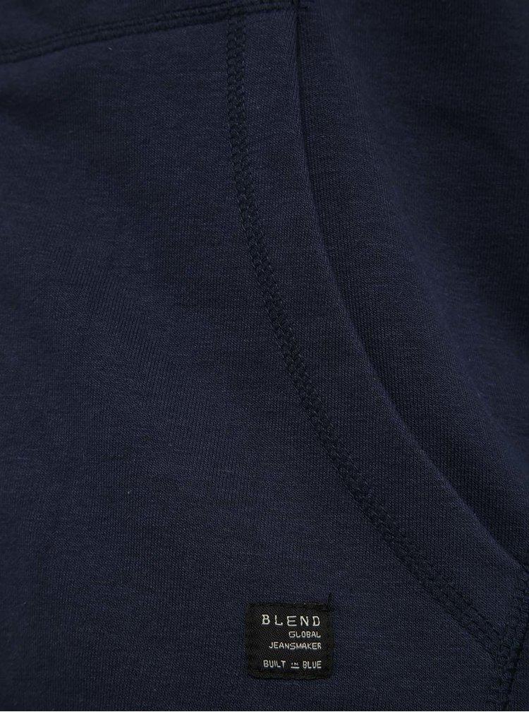 Hanorac bleumarin Blend cu print