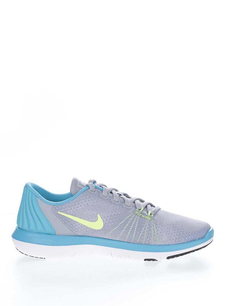 Pantofi sport gri & albastru Nike Flex Supreme unisex