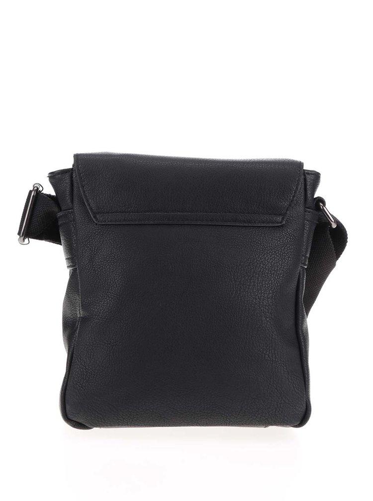 Černá pánská crossbody taška s.Oliver