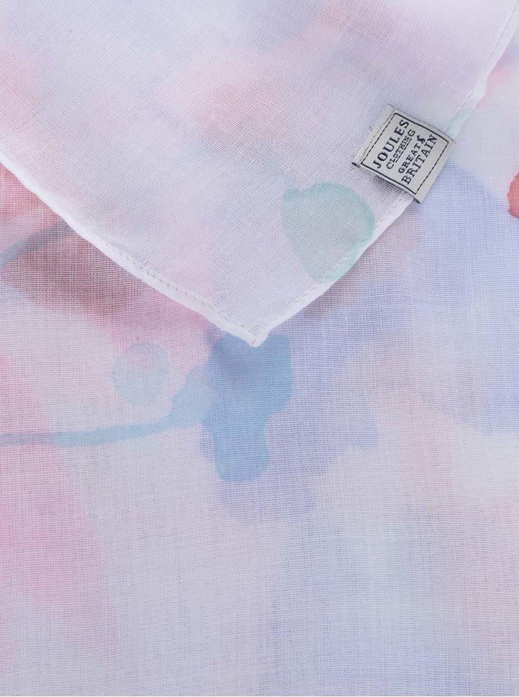 Bílý vzorovaný šátek Tom Joule