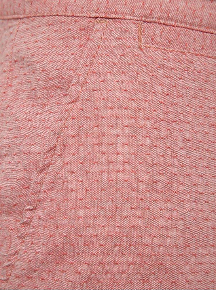 Růžové vzorované kraťasy Blend