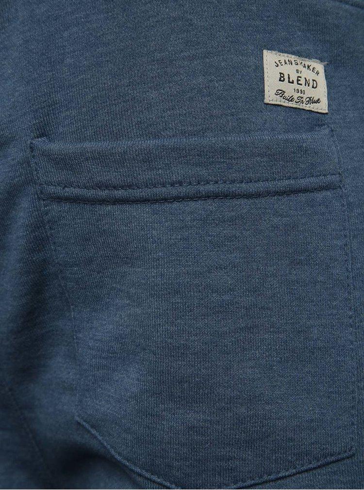 Modré teplákové kraťasy Blend