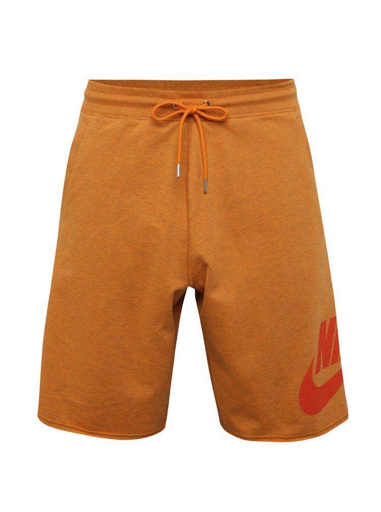 Pantaloni scurti portocalii Nike pentru barbati