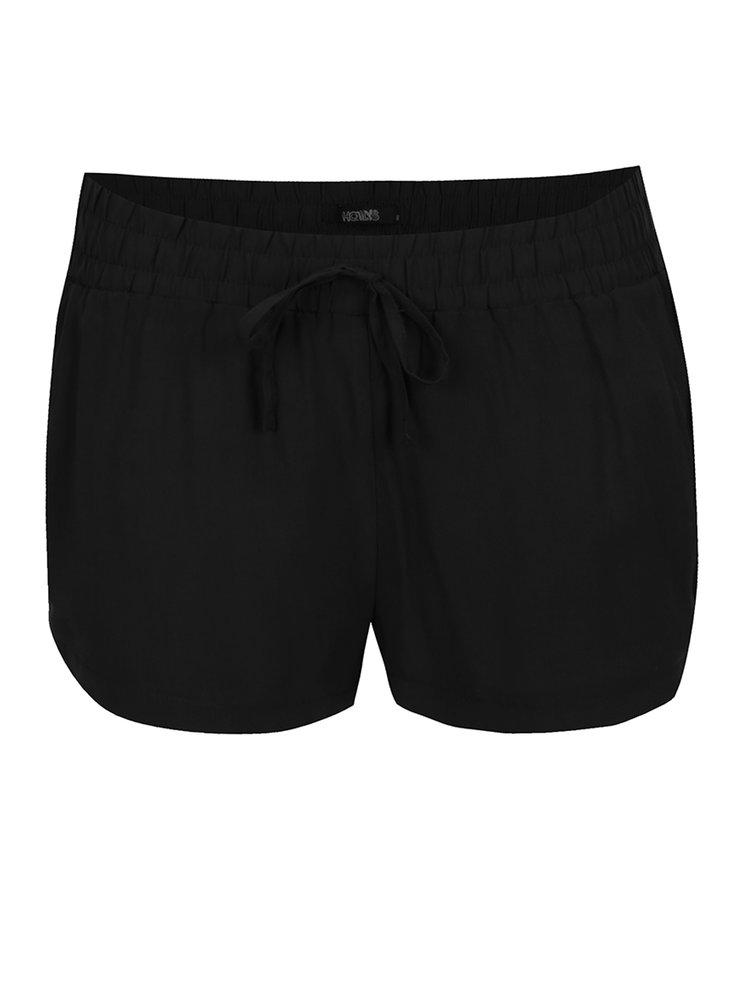 Pantaloni scurți negri Haily´s Svenja
