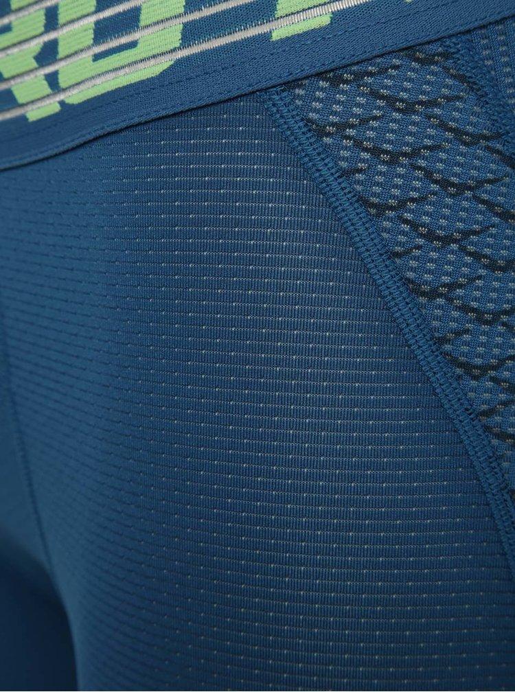 Pantaloni trei sferturi albaștri Nike Pro HyperCool pentru bărbați