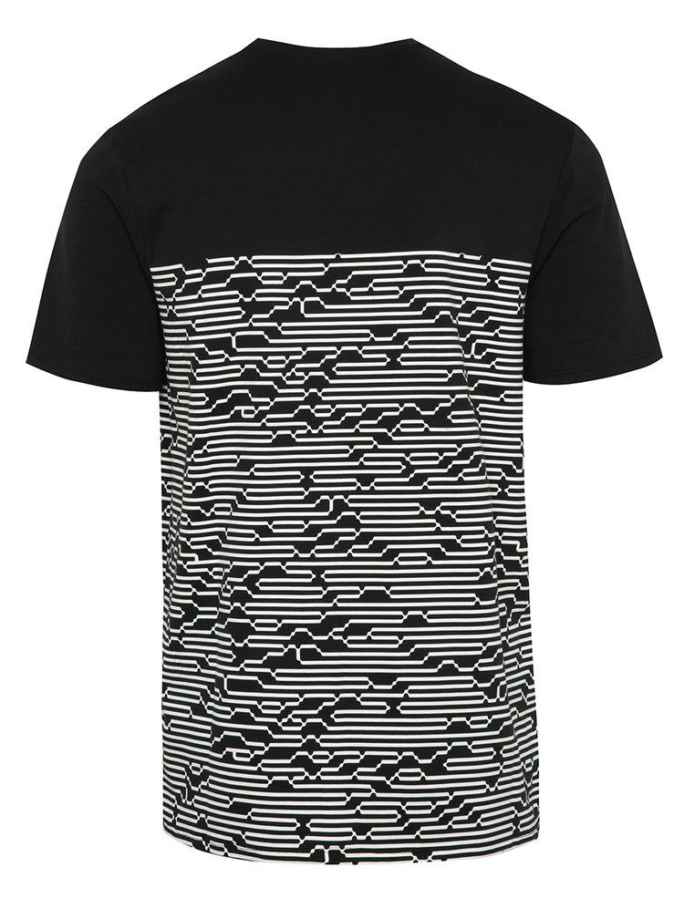 Černé pánské triko s potiskem Nike International