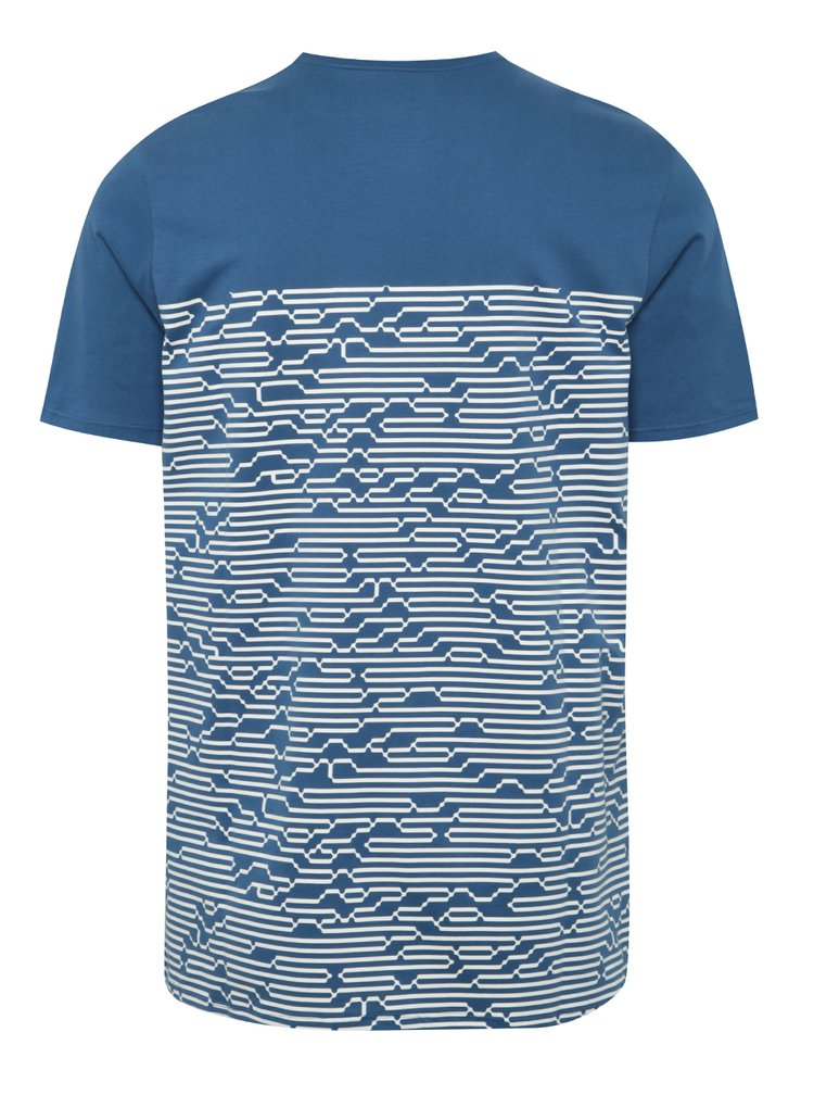 Tricou albastru & alb Nike International pentru barbati