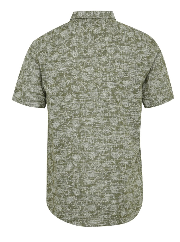 Khaki košile s tropickým vzorem ONLY & SONS Alfred