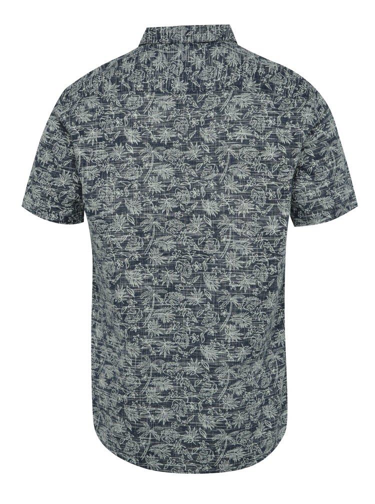 Modrá košile s tropickým vzorem ONLY & SONS Alfred