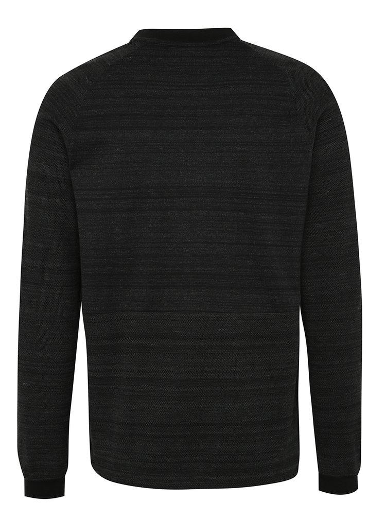 Jacheta bomber negru melanj Nike Sportswear Advance 15  pentru barbati