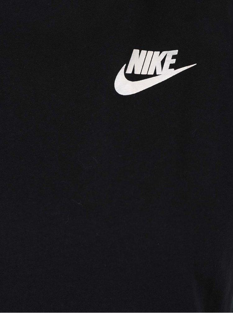 Černé dámské tílko s potiskem na zádech Nike