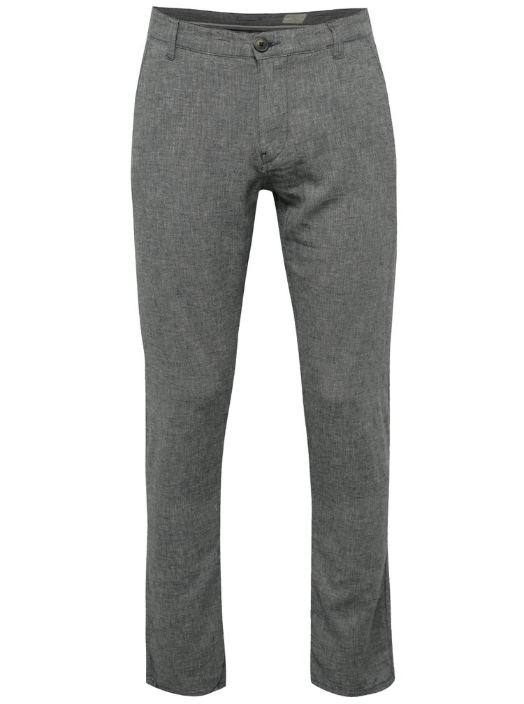 Pantaloni chino bluemarin melanj Selected Homme Paris