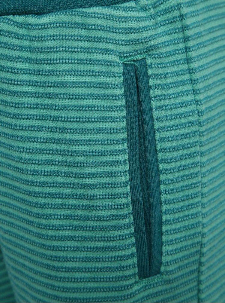 Zelené klučičí pruhované kraťasy name it Sonny