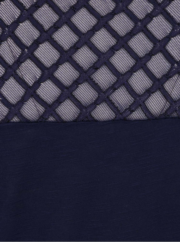 Tricou albastru închis Dorothy Perkins Tall