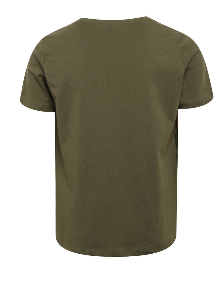 Zelené klučičí triko s potiskem LIMITED by name it Victornur