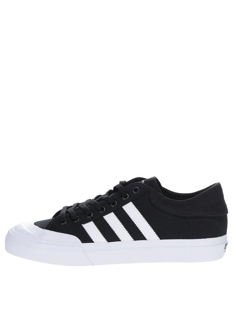 Pantofi sport negru & alb pentru barbati adidas Originals Matchcourt