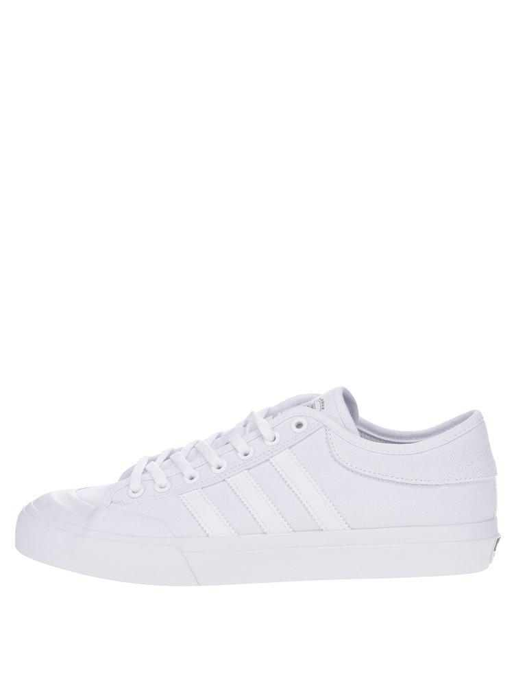 Pantofi sport albi pentru bărbați adidas Originals Matchcourt