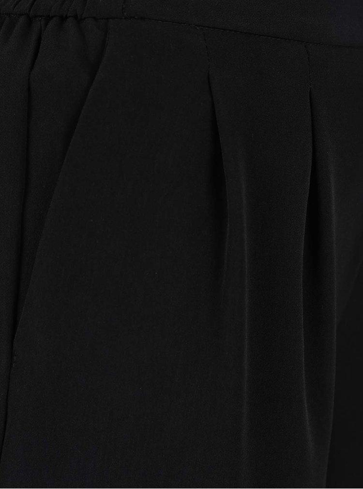 Černé culottes kalhoty ONLY Charlotte