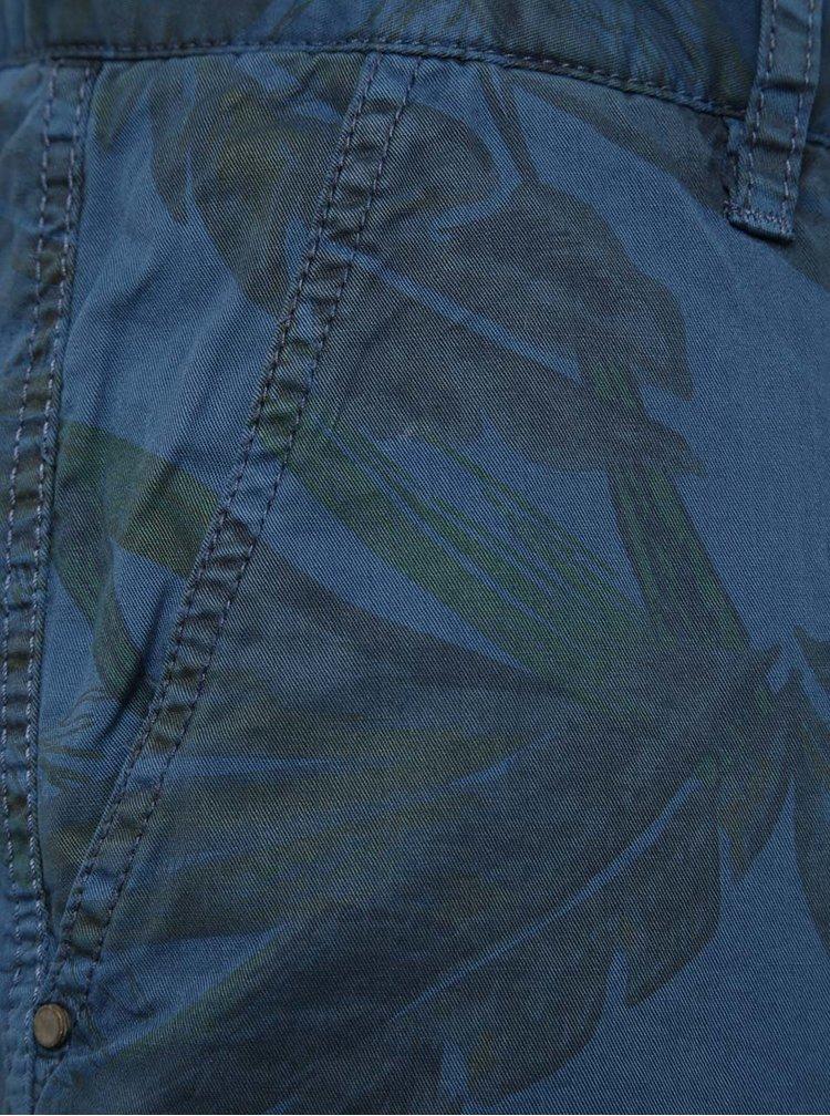 Modré vzorované kraťasy Blend