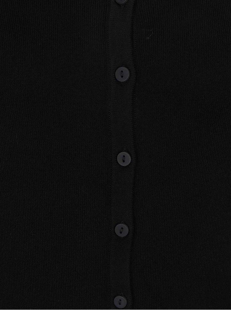 Černý svetr s knoflíky VERO MODA Glory