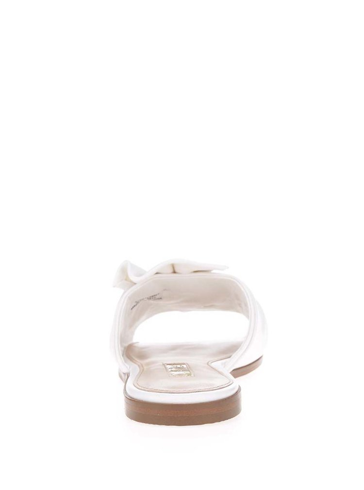 Papuci crem Miss Selfridge cu funda decorativa