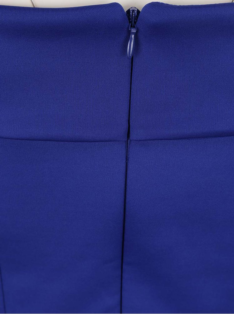 Rochie albastră Dorothy Perkins Tall cu decolteu pe umeri
