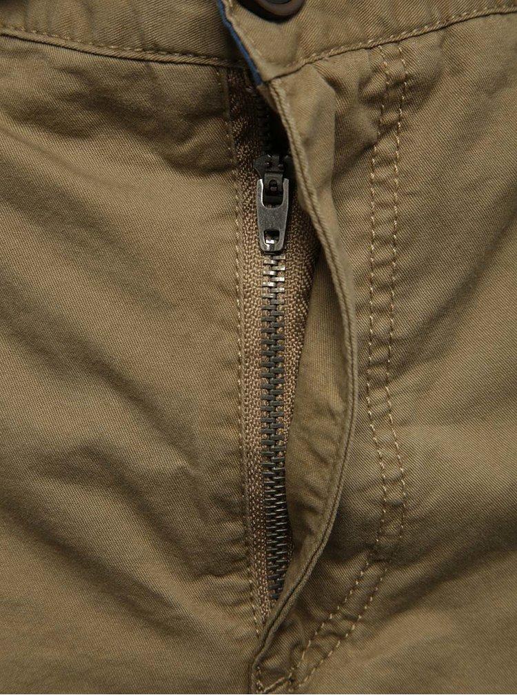 Pantaloni scurti maro Blend din bumbac