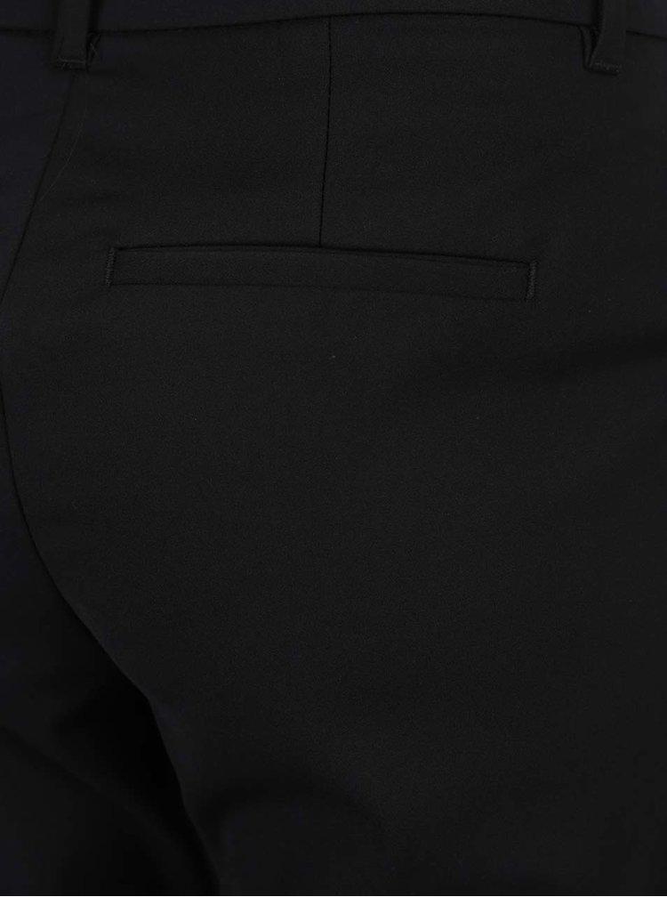 Černé kalhoty s kapsami VERO MODA Victoria