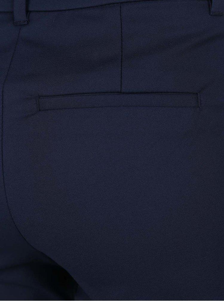 Pantaloni bleumarin cu croi cigarette VERO MODA Victoria