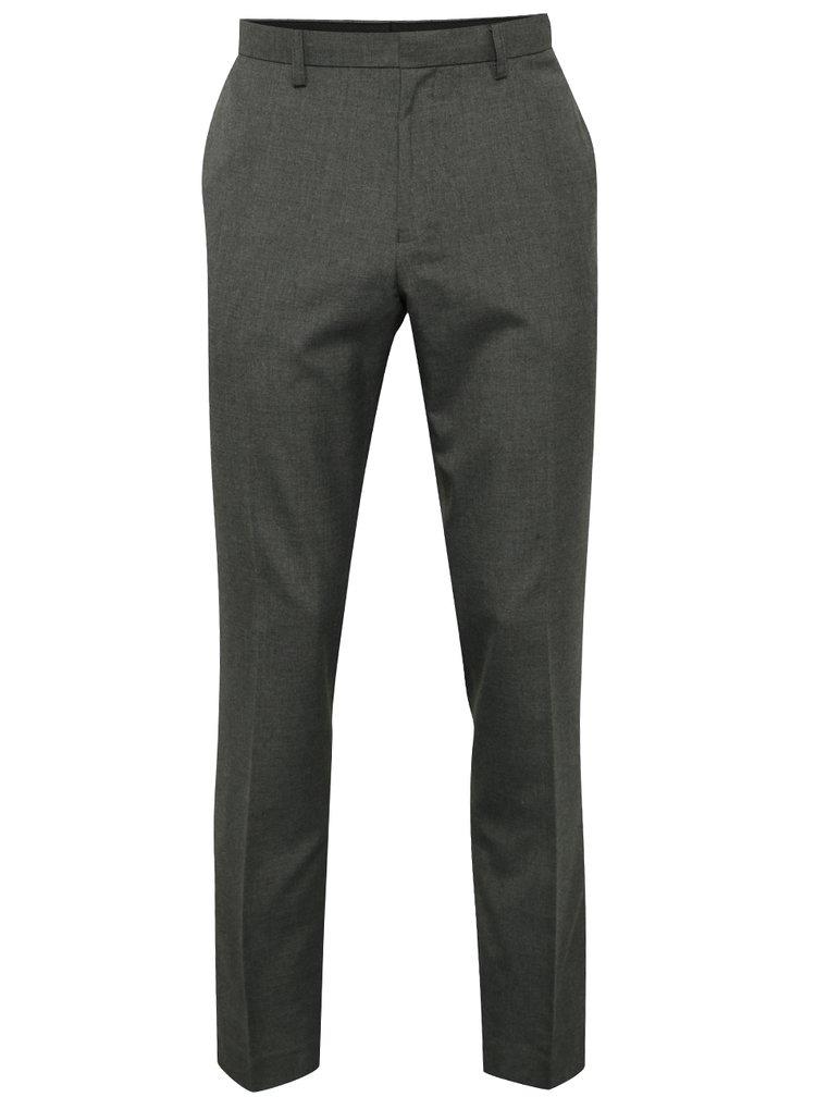 Pantaloni slim fit Burton Menswear London gri
