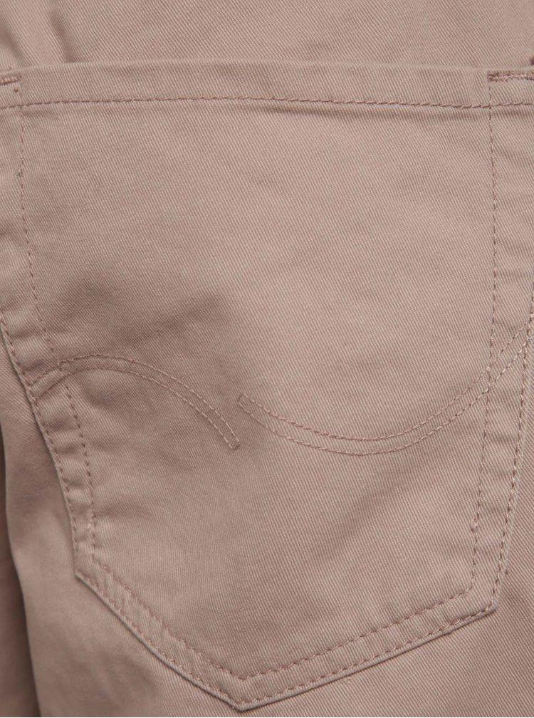 Pantaloni scurti roz Jack & Jones Rick din bumbac