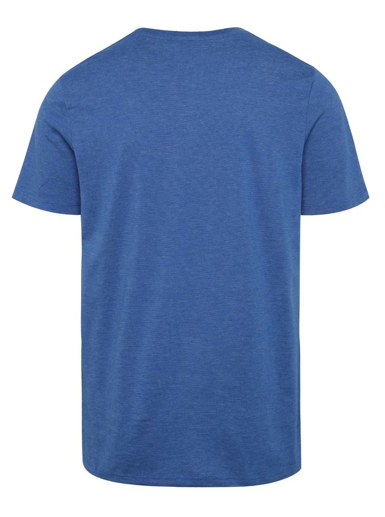 Modré triko s potiskem Jack & Jones Crown