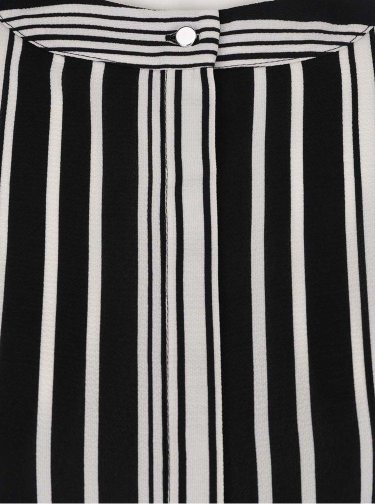 Bluză alb & negru Dorothy Perkins Curve