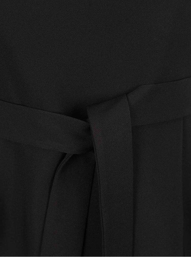 Rochie neagra Dorothy Perkins Curve cu fermoar vizibil