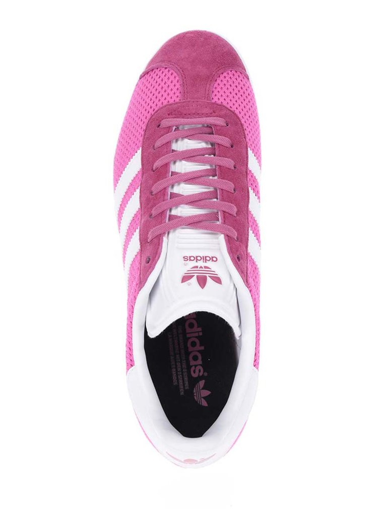 Růžové dámské tenisky adidas Originals Gazelle