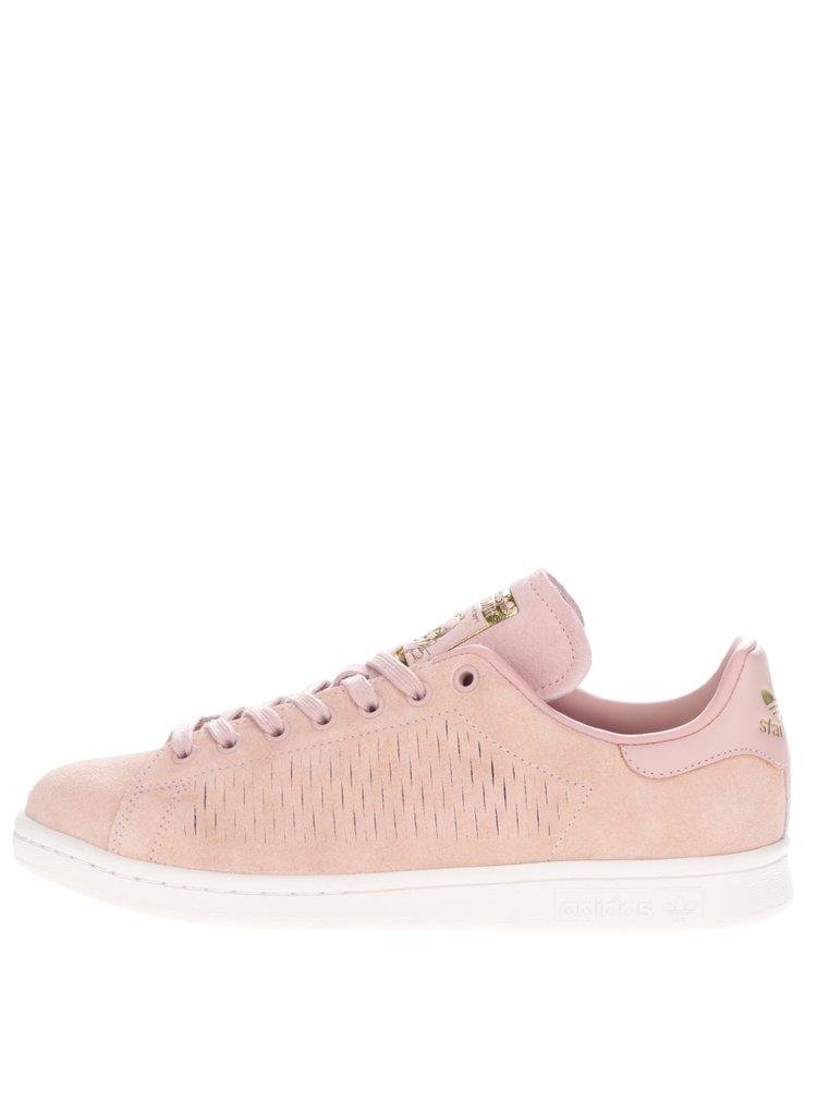 Starorůžové dámské tenisky adidas Originals Stan Smith