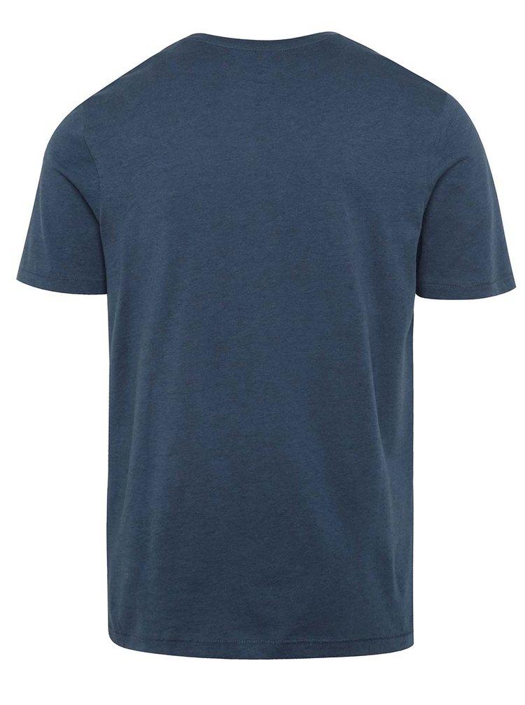 Modré triko s potiskem Jack & Jones Creek