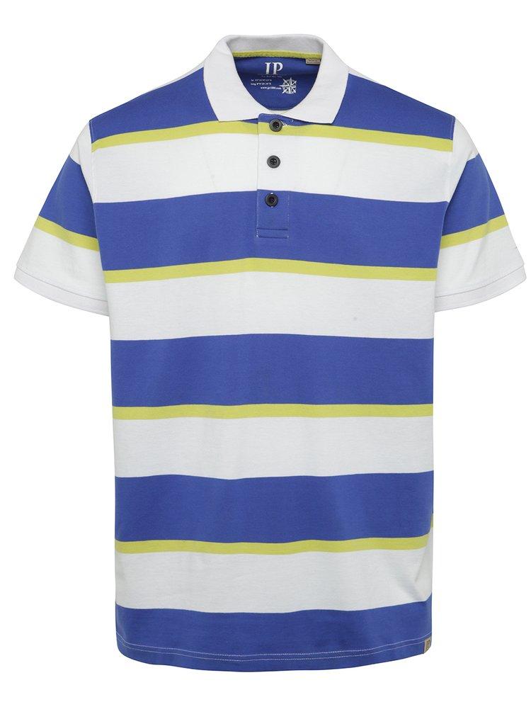 Modro-bílé pruhované polo triko JP 1880
