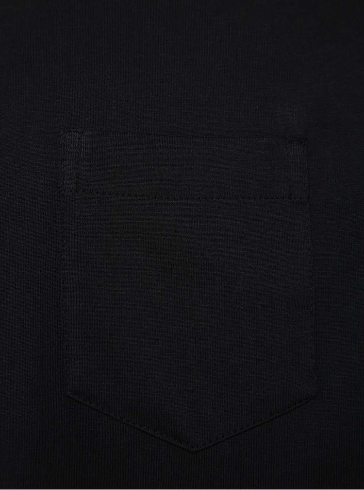 Tricou bleumarin JP 1880 cu buzunar pe piept