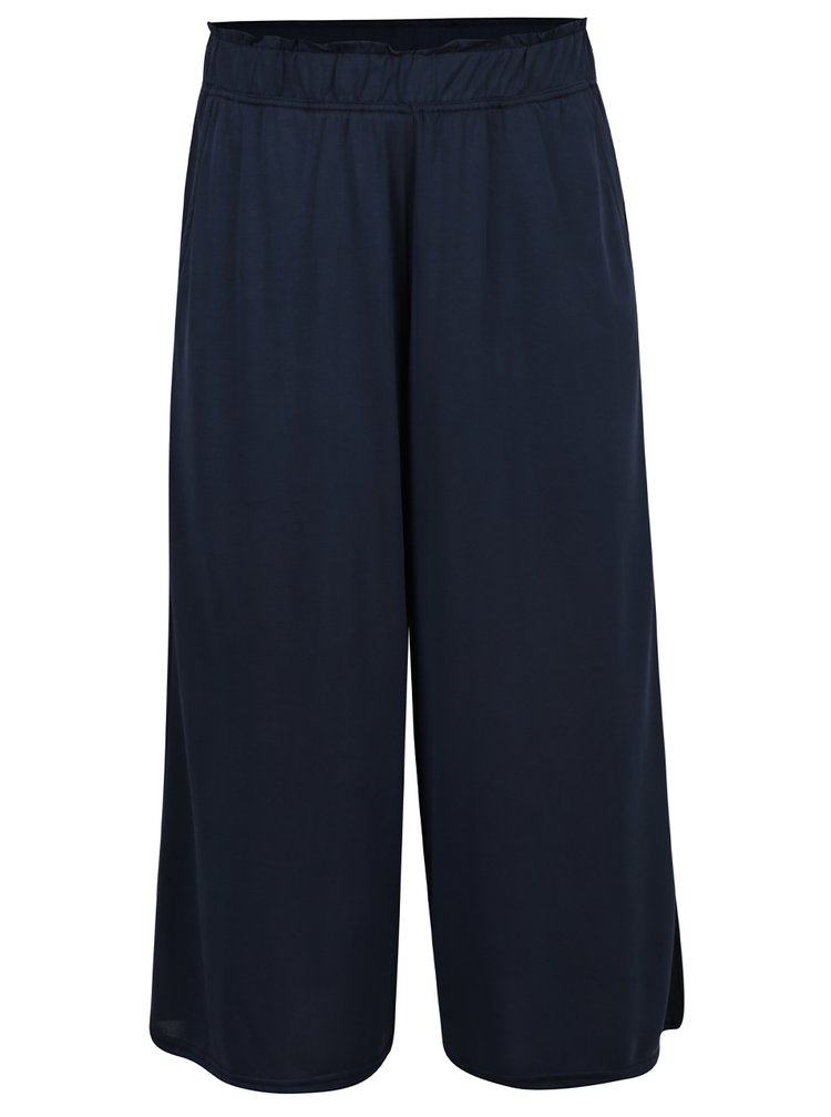 Pantaloni culottes bleumarin VERO MODA Metti