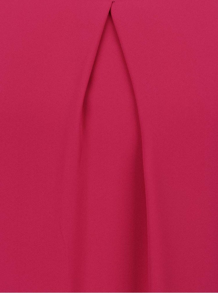 Rochie roz Dorothy Perkins Petite cu volane decorative