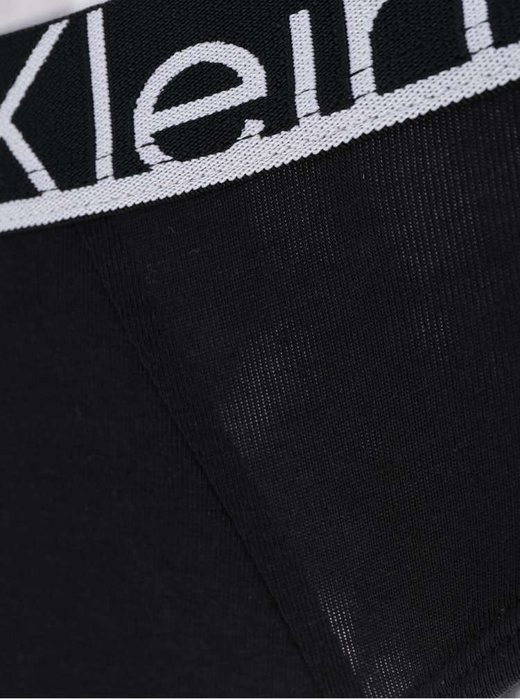 Chiloti negri cu model logo - Calvin Klein