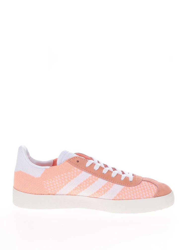 Pantofi sport portocalii adidas Originals Gazelle pentru femei